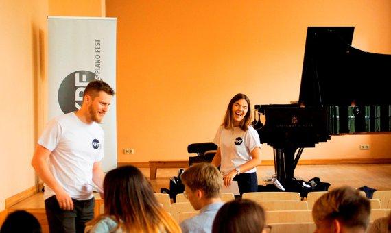 """Kaunas Piano Fest"" nuotr./""Kaunas Piano Fest"" akimirka"
