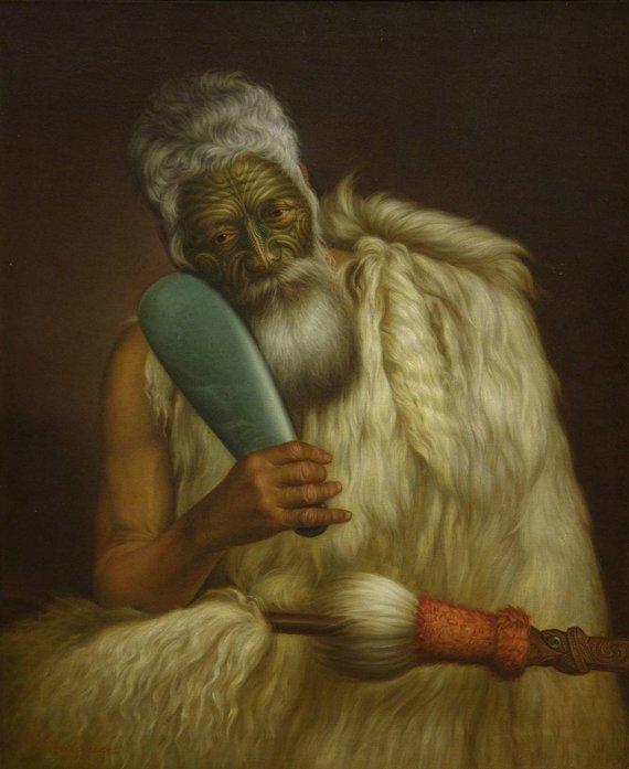 commons.wikimedia.org nuotr./Mere – gana neįprastai naudotas Naujosios Zelandijos maorių ginklas, kuris traiškė kaukoles