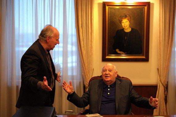 """Projekto partnerių nuotr./""""Herzogas / Gorbačiovas"""""""