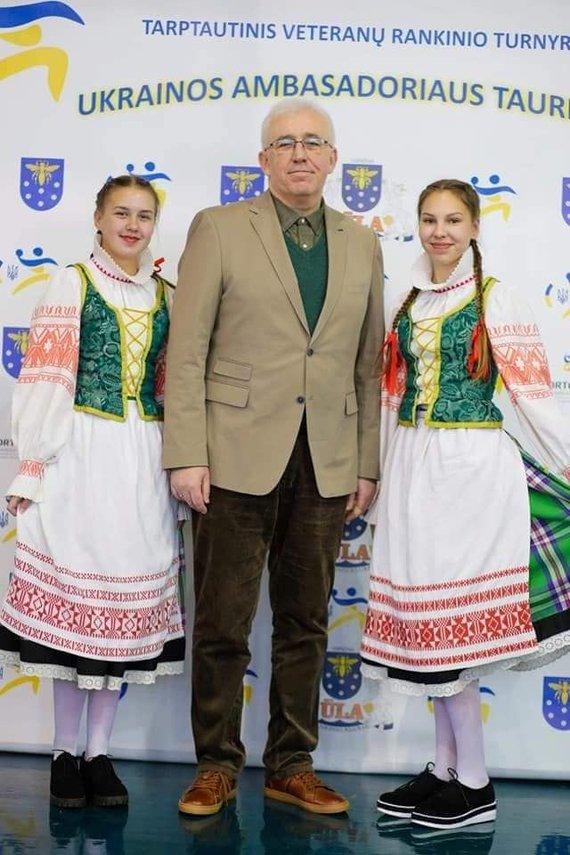 Vido Palevičiaus nuotr,/Ukrainos ambasadoriaus Lietuvoje Volodymyras Yatsenkivskyi