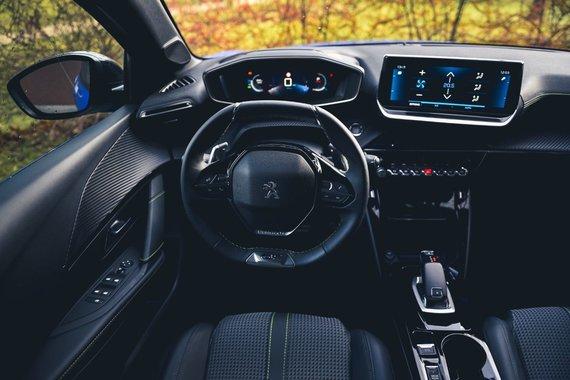 """""""Velocita"""" nuotr./2019 m. """"Peugeot 208"""" interjeras"""