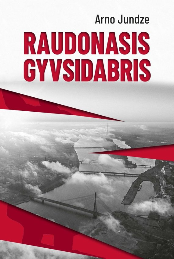 """Knygos viršelis/Arno Jundze """"Raudonasis gyvsidabris"""""""