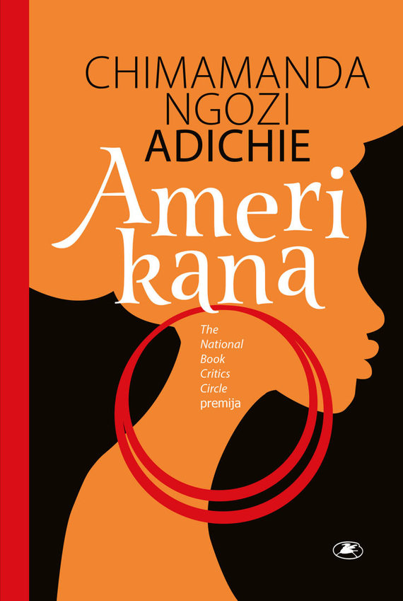 "Knygos viršelis/Chimamanda Ngozi Adichie ""Amerikana"""