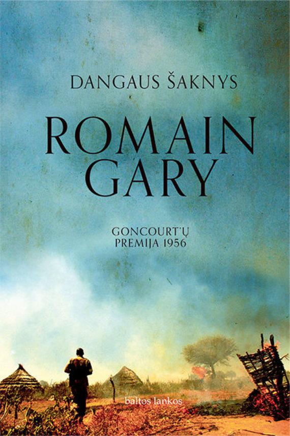 """Knygos viršelis/Romain Gary """"Dangaus šaknys"""""""