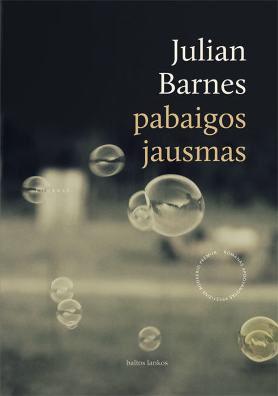 """Knygos viršelis/Julian Barnes """"Pabaigos jausmas"""""""