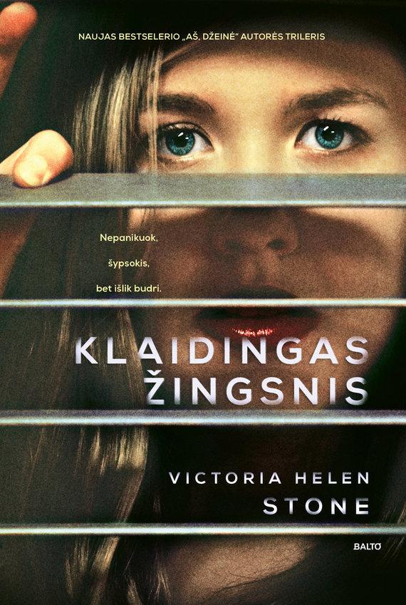 """BALTO leidybos namų nuotr./Victoria Helen Stone """"Klaidingas žingsnis"""""""