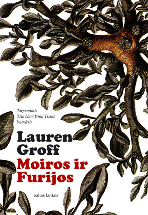 "Knygos viršelis/Lauren Groff ""Moiros ir Furijos"""