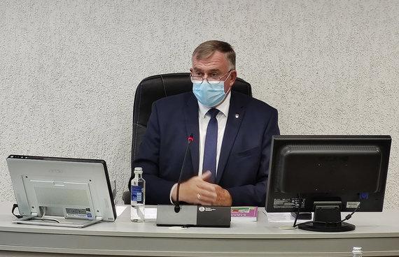"""""""Kėdainių mugės"""" nuotr./Švietimo skyriaus vedėjas J.Lukoševičius tikisi, kad susidūręs su COVID-19 iššūkiais ugdymas bus saugus ir sėkmingas."""