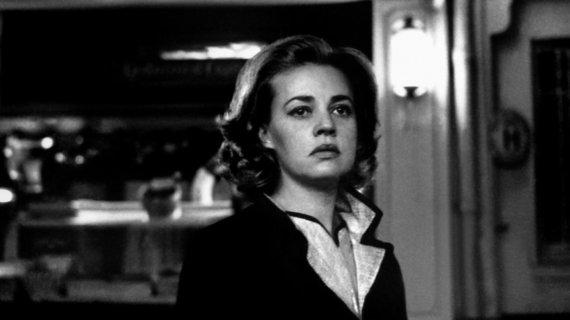 "Projekto partnerio nuotr./Jeanne Moreau filme ""Liftas į ešafotą"""
