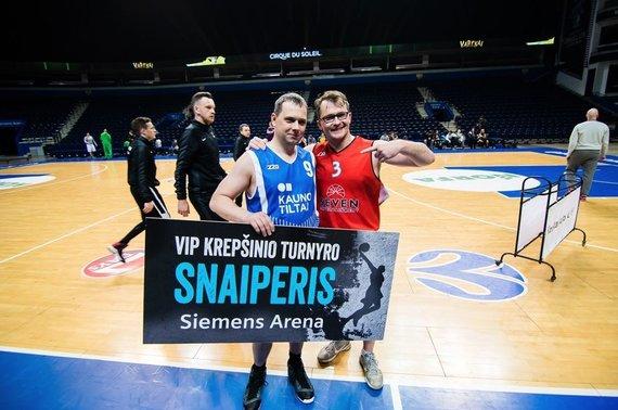 """Projekto partnerio nuotr./Krepšinio turnyras """"Siemens arenoje"""""""