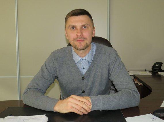 Andriaus Grygelaičio nuotr./Vilkaviškio VMVT viršininkas Gediminas Gvazdaitis