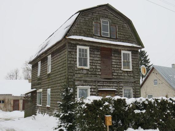 Andriaus Grygelaičio nuotr./Garsusis amerikono namas