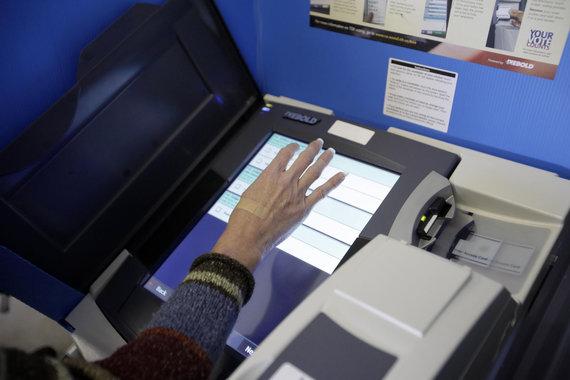"AFP/""Scanpix"" nuotr./Balsavimas JAV"