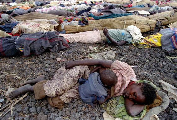 """""""Reuters""""/""""Scanpix"""" nuotr./Tutsiai pabėgėlių stovykloje"""