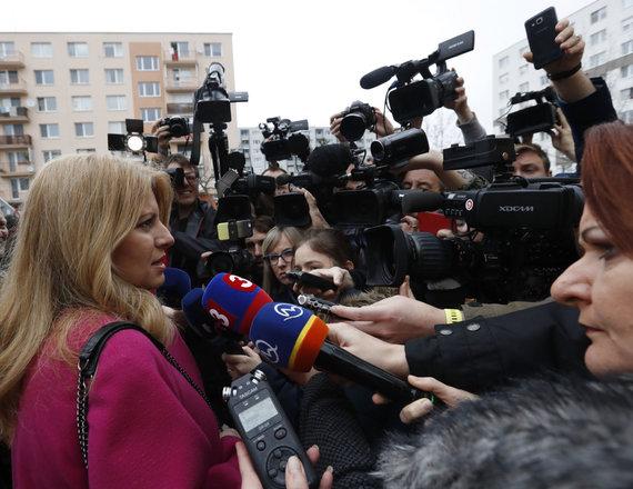 """""""Scanpix""""/AP nuotr./Zuzana Čaputova"""