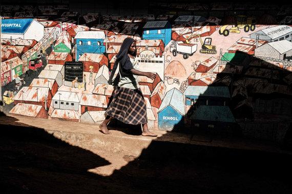 "AFP/""Scanpix"" nuotr./Kibera"