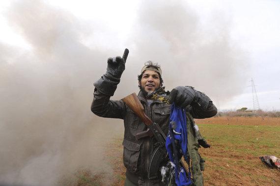 """Scanpix""/AP nuotr./Sukilėlis Idlibe"