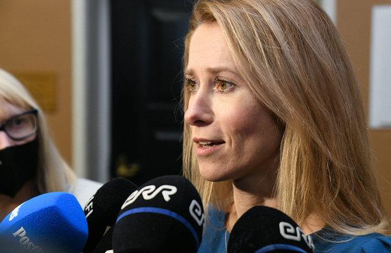 """AFP/""""Scanpix"""" nuotr./Kaja Kallas"""