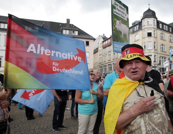 """Reuters""/""Scanpix"" nuotr./""Alternatyvos Vokietijai"" (AfD) rėmėjai"