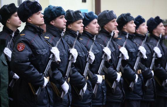 """""""Sputnik"""" nuotr./Rusijos Nacionalinės gvardijos kariai"""