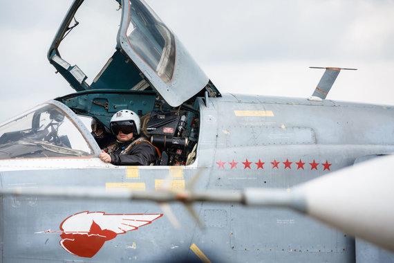 """""""Scanpix""""/AP nuotr./Rusijos Su-24 bombonešis"""