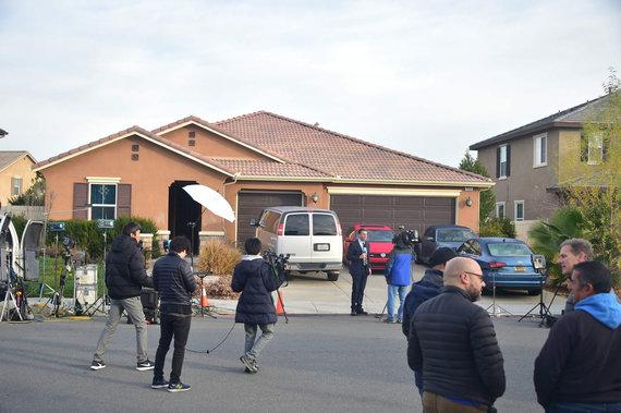 """AFP/""""Scanpix"""" nuotr./Iš pažiūros įprasti Kalifornijos poros namai buvo paversti kankinimų kambariu"""