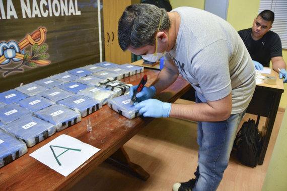 """AFP/""""Scanpix"""" nuotr./Narkotikų siuntos sulaikymo operacija"""
