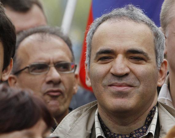 """""""Reuters""""/""""Scanpix"""" nuotr./Garis Kasparovas"""