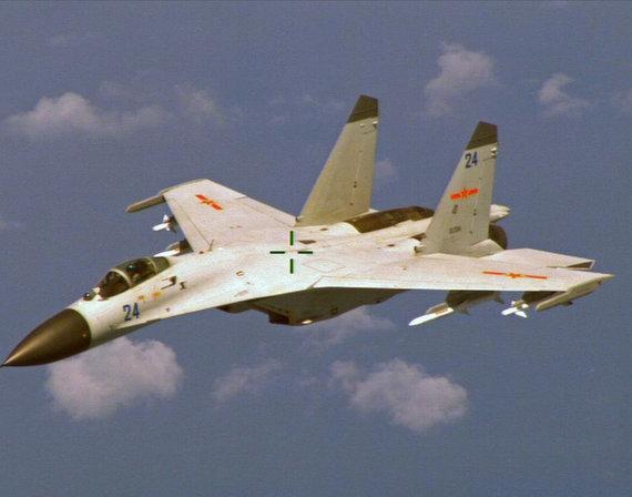 """""""Reuters""""/""""Scanpix"""" nuotr./Naikintuvas J-11"""