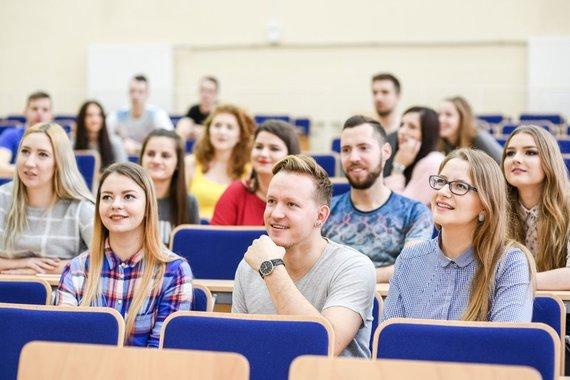 Organizatorių nuotr./Klaipėdos valstybinės kolegijos studentai