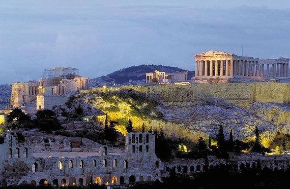 """Kelionių organizatoriaus """"GRŪDA"""" nuotr./Akropolio kalva, Atėnai, Graikija"""