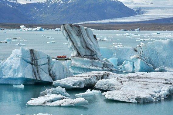 """Kelionių organizatoriaus """"GRŪDA"""" nuotr./Plaukimas ledkalnių lagūna"""