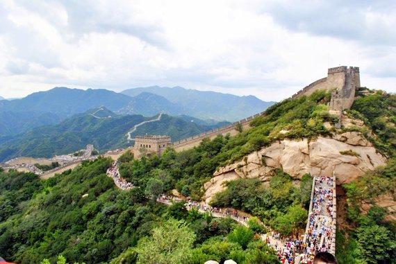 """Kelionių organizatoriaus """"GRŪDA"""" nuotr./Didžioji kinų siena"""