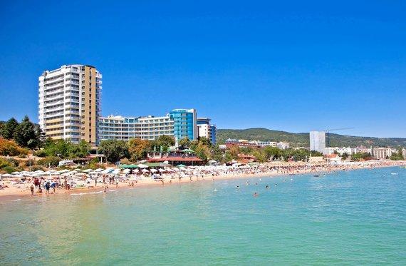 """Kelionių organizatoriaus """"GRŪDA"""" nuotr./Juodosios jūros paplūdimys Varnoje, Bulgarijoje"""