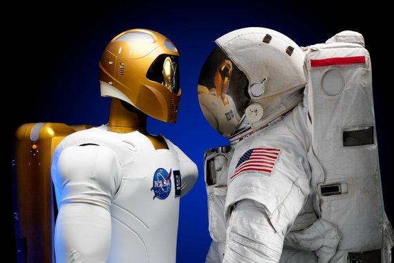 Organizatorių nuotr./Astronautų ateitis