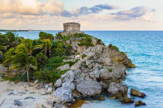 123RF.com nuotr./Meksika, Tulumo paplūdimys