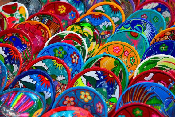 Meksika, keramika