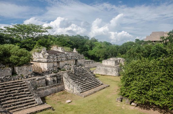123RF.com nuotr./Meksika, Ek Balam, Majų civilizacijos liekanos