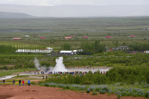 """Kelionių organizatoriaus """"GRŪDA"""" nuotr./Haukadaluro slėnis, Islandija"""