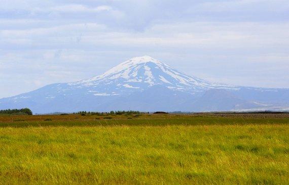 """Kelionių organizatoriaus """"GRŪDA"""" nuotr./Heklos ugnikalnis, Islandija"""