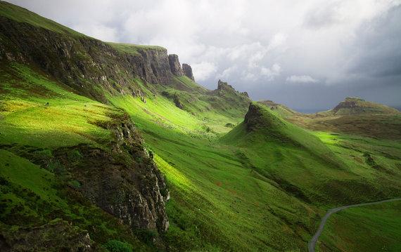 """Kelionių organizatoriaus """"GRŪDA"""" nuotr./Škotijos kraštovaizdis"""