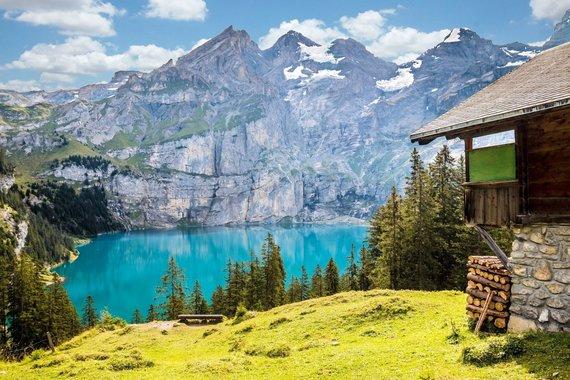 """Kelionių organizatoriaus """"GRŪDA"""" nuotr./Šveicarijos peizažas"""