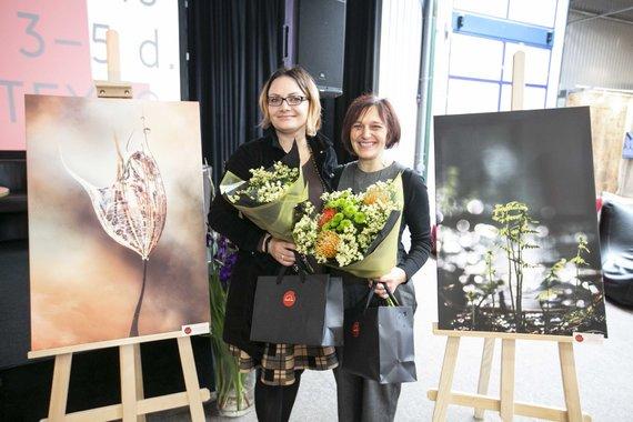 Organizatorių nuotr./Kristina Žvinakevičiūtė ir Lina Jakubonytė
