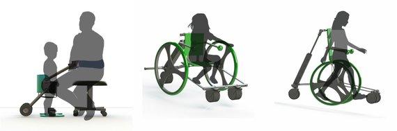 Asmeninio arch. nuotr./Paulinos Bradūnaitės su komanda kuriami darbai neįgaliesiems