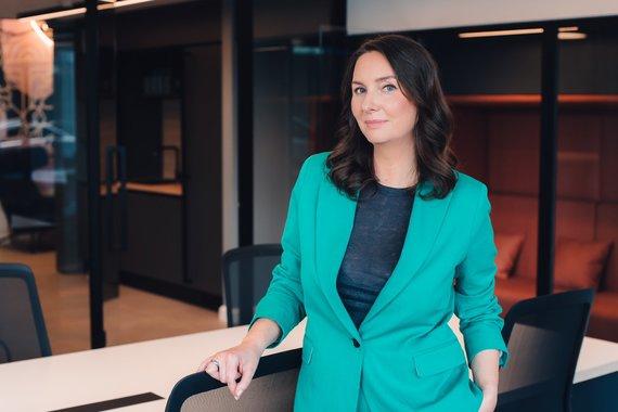 """Organizatorių nuotr./Jakaterina Bitus, """"Swedbank"""" startuolių partnerystės vadovė"""