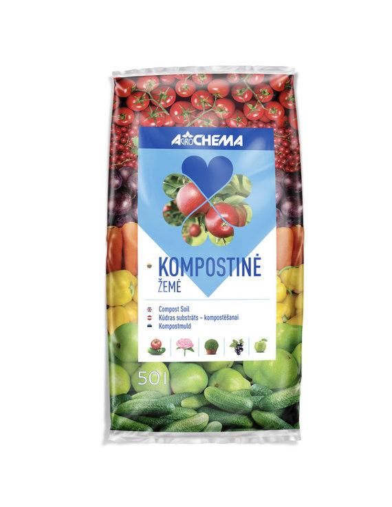"""""""Agrochema"""" nuotr./Kompostinė žemė, """"Agrochema"""""""