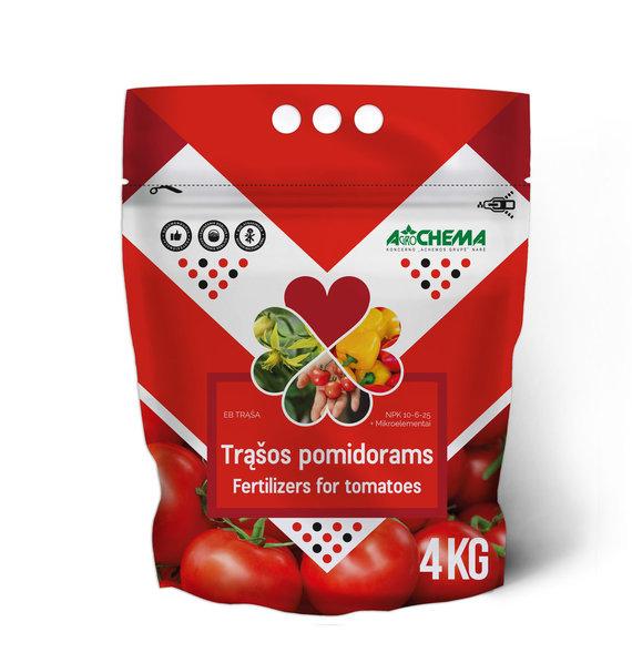 """""""Agrochemos"""" nuotr./""""Agrochemos"""" trąšos pomidorams, 4kg"""