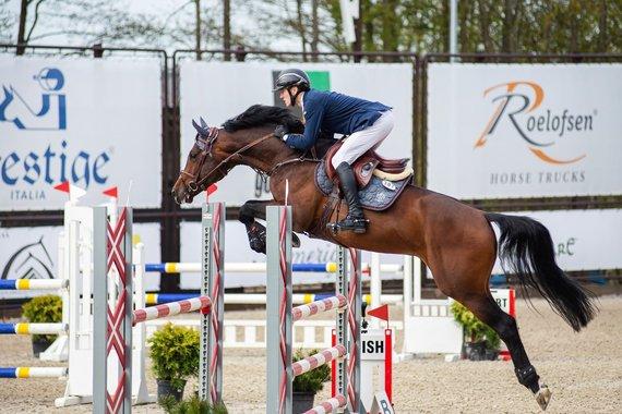 "Almos Totorytės nuotr./""HEST – Horsemarket equestrian spring tour 2021"" varžybos"