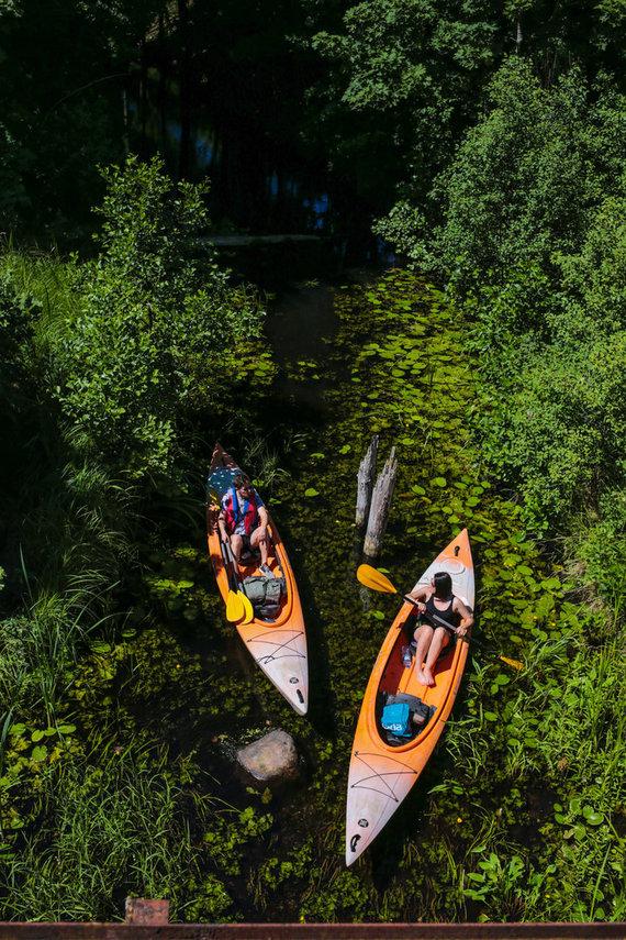 Litwildtravel.com nuotr./Smalvos upė