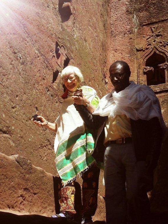 Asmeninio arch. nuotr./Dalia Montvilienė Etiopijoje